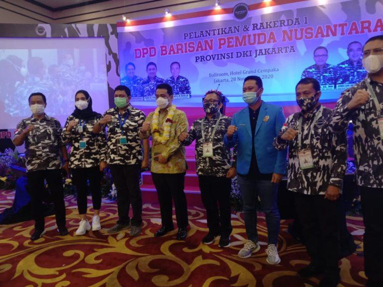 Dilantik Jadi Ketua DPD Bapera DKI, Basri Baco : Kita Dukung Program Pemerintah !