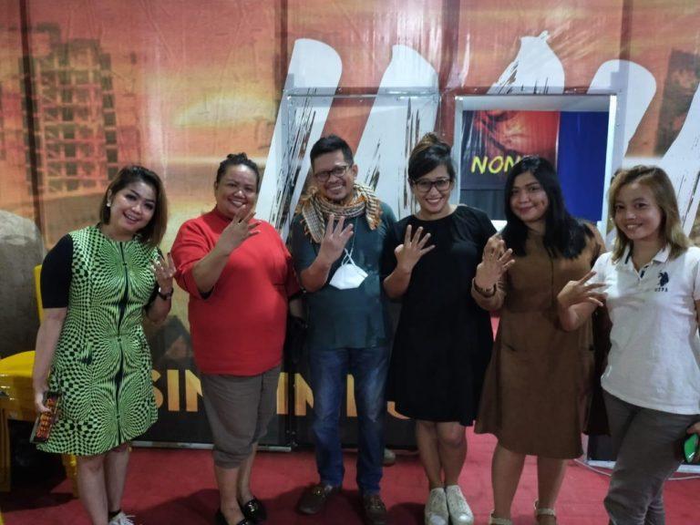 Pilwakot Makassar, Penyanyi Dangdut Aty Kodong Beri Dukungan untuk IMUN