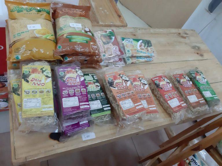 Percepat Diversifikasi Pangan, Produk Pangan Lokal Hadir di Pasar Mitra Tani
