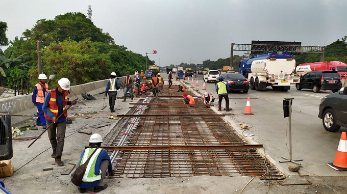 Jasa Marga Lakukan Perbaikan dan Perkuatan Jembatan di Ruas Tol Jagorawi
