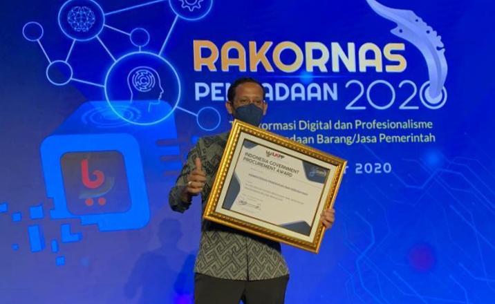 Raih Penghargaan dari LKPP, Kemendikbud Komitmen Tingkatkan Inovasi yang Transparan dan Akuntabel