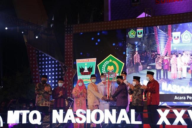 MTQ Nasional XXVIII Ditutup, Sumbar Raih Juara Umum