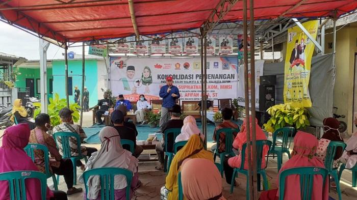 Program Berobat Gratis Pradi-Afifah Disebut Jawab Kekhawatiran Warga Depok