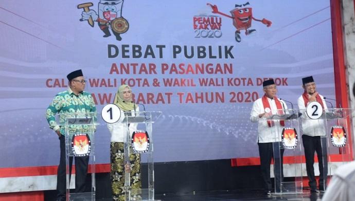 Debat Publik Pilwalkot Depok Putaran Kedua Dipastikan Tanpa Idris