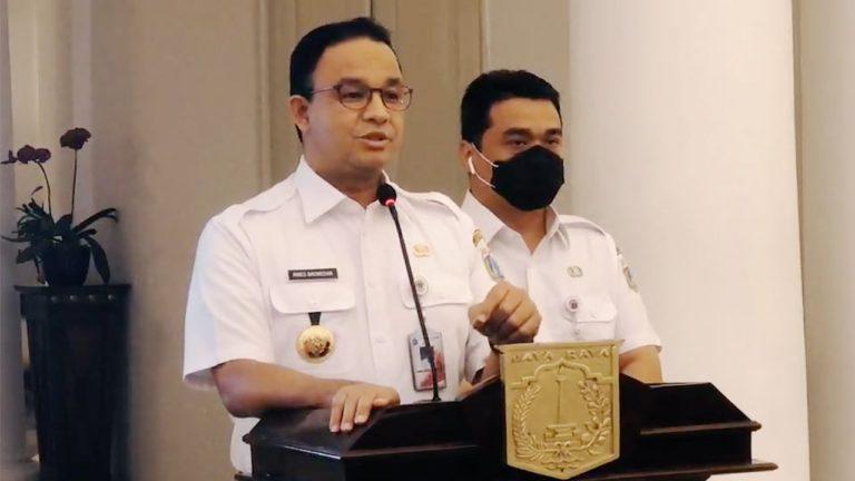Gara-gara Pandemi, Anies Akui Jakarta Sudah Masuk 'Jurang' Resesi