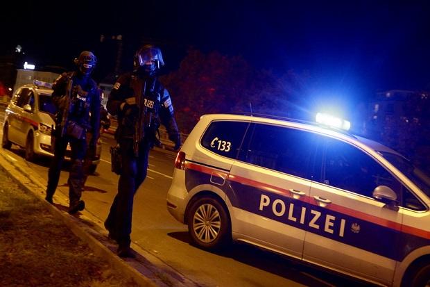Sekelompok Pria Bersenjata di Wina Austria Lakukan Penembakan Brutal