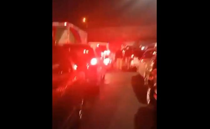 Rizieq Hari ini Tiba, Tol Arah Bandara Soetta Macet Sejak Pukul 03.00 WIB