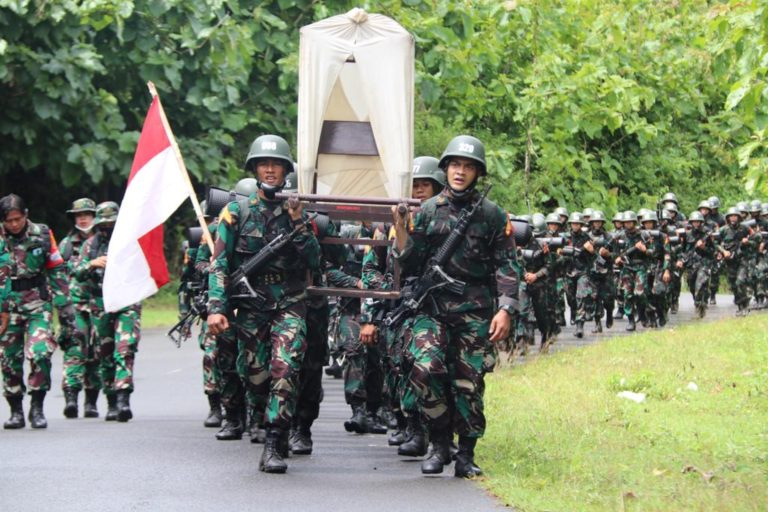 Taruna TNI Napak Tilas Rute Gerilya Jenderal Sudirman