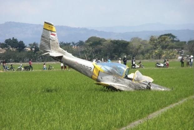 Kecelakaan, Pilot Pesawat KT-1B Wong Bee Selamat