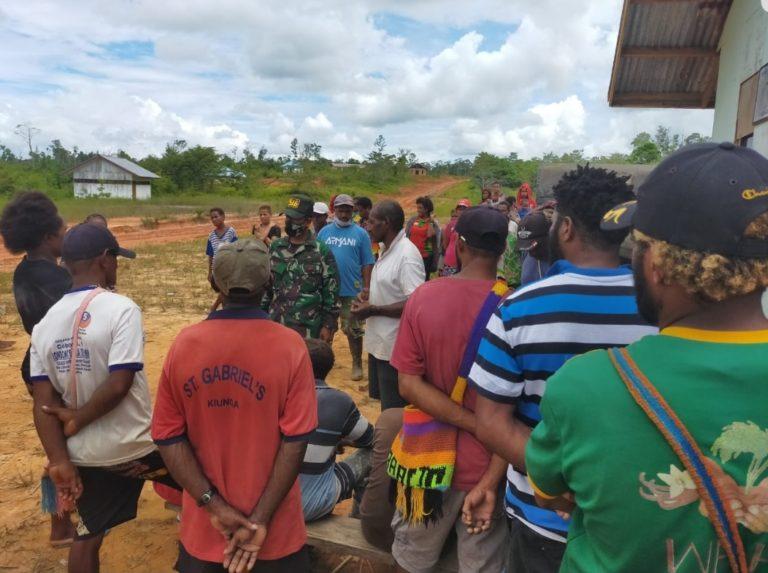 Yonif 516 Amankan 42 Pelintas Batas Ilegal dari Papua Nugini