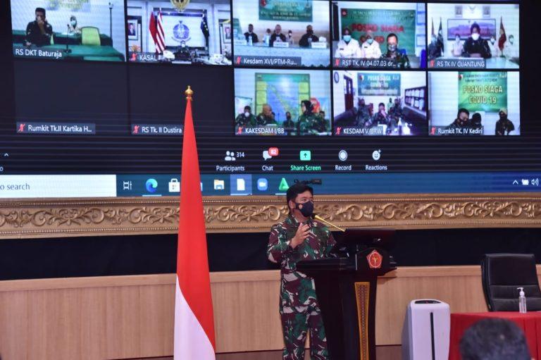 TNI Siapkan SDM Pelaksanaan Vaksinasi Covid-19