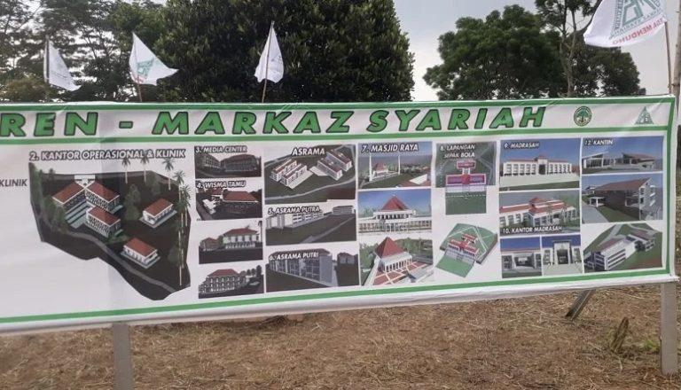 Pihak Rizieq Kirim Jawaban Soal Somasi Lahan Markaz Syariah Megamendung