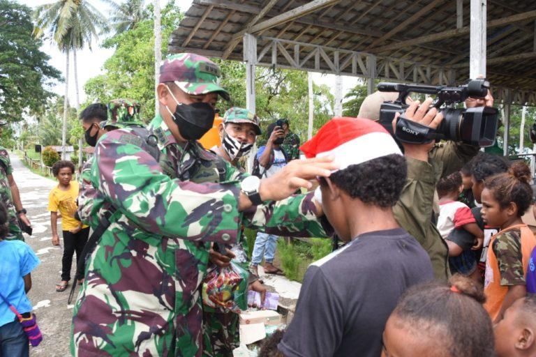 Peringati Tiga Momen Sekaligus, Kodam Kasuari Gelar Karbak di Dua Pulau Ini
