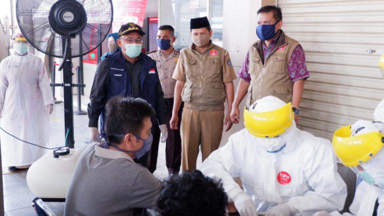 Pemprov Jabar Gelar Rapid Antigen di Rest Area Tol Cipali dan Cipularang