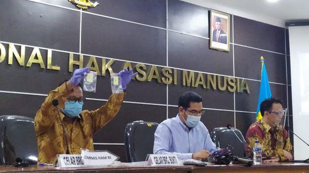 Komnas HAM Temukan Proyektil dan Selongsong Peluru di KM 50 Tol Japek