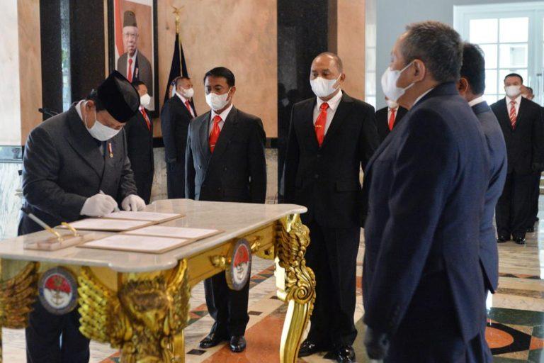 Prabowo: Saya Ucapkan Selamat dan Terima Kasih