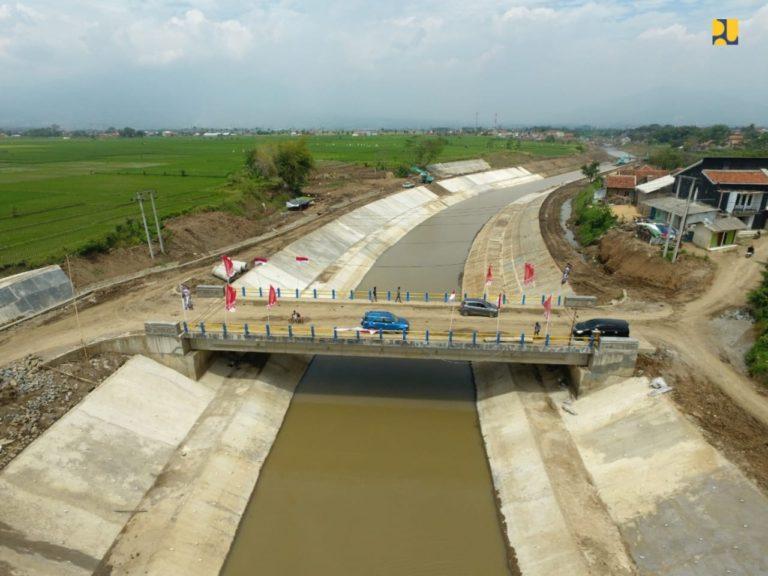 Siap Diresmikan, Sudetan Cisangkuy Bakal Tambah Kapasitas Penanganan Banjir di Bandung