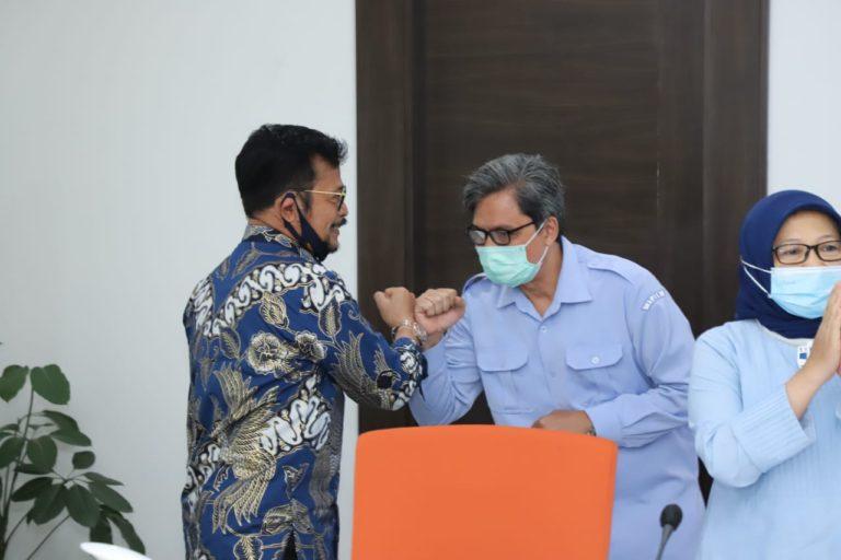 Hari Pertama Syahrul Yasin Limpo, Menteri KKP ad interim
