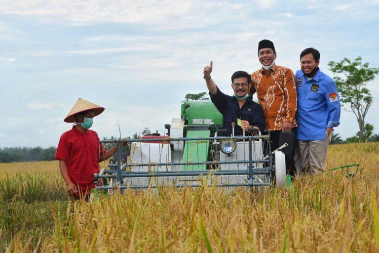 Mentan Syahrul Dorong Provinsi Bengkulu Jadi Penopang Kebutuhan Pangan Nasional