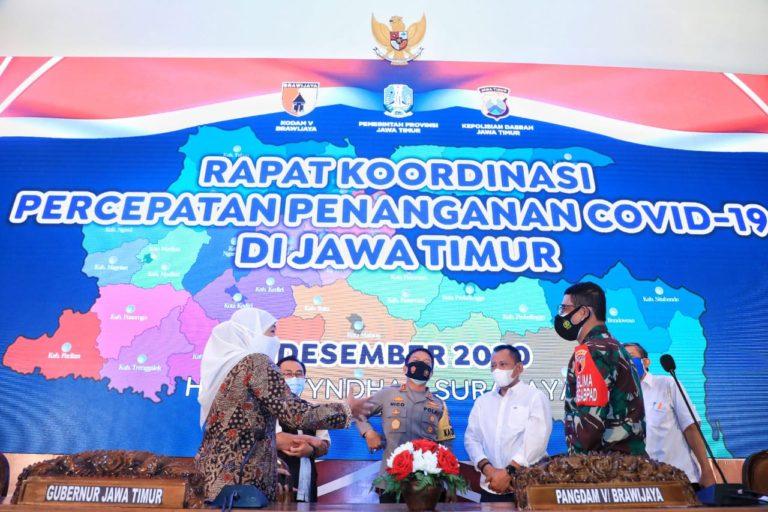 Jelang Libur Nataru, Pemprov dan Forkopimda Jatim Perkuat Sinergitas Bersama Kabupaten- Kota