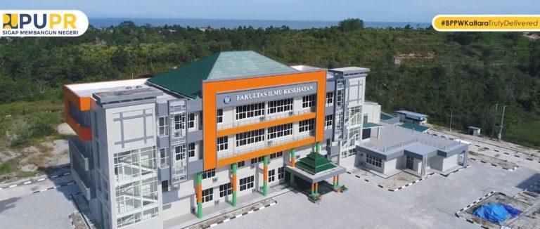 Kementerian PUPR Selesaikan Pembangunan Gedung Kuliah Universitas Borneo Tarakan
