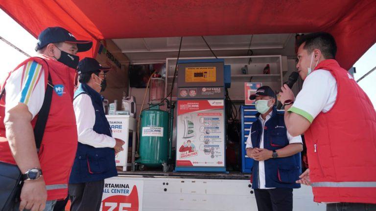Satgas Nataru PT Pertamina Lubricants Pastikan Ketersediaan dan Layanan Pelumas Tetap Optimal
