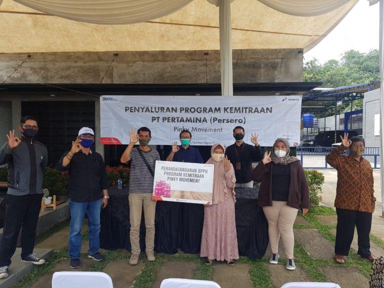Pertamina Pemasaran Regional Jawa Bagian Barat Salurkan 9,3 Miliar bagi Pelaku UMKM di Penghujung 2020