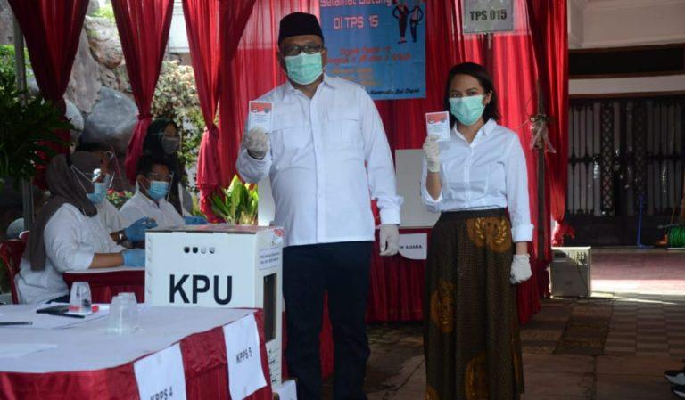 Sebelum ke TPS, Pradi Supriatna Didoakan Komunitas Hafiz NU Depok