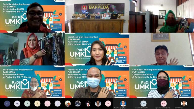 Kilang Pertamina Cilacap Dukung Perkembangan UMKM melalui Implementasi Pasar Digital