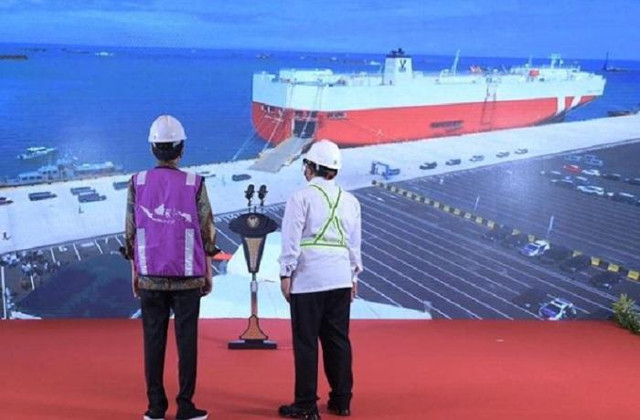 Pelabuhan Patimban Resmi Beroperasi, Jokowi: Ini Penting Bagi Ekspor-Impor