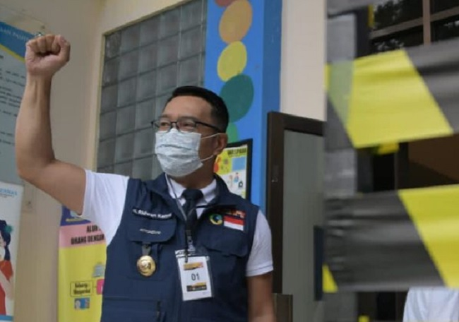 Kang Emil Sumringah Jawa Barat Kini Punya Gudang Oksigen