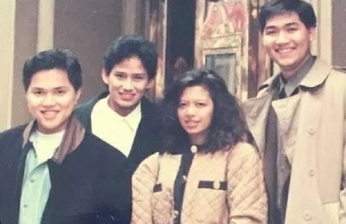 Unggah Foto Lawas, Erick Thohir Nostalgia Bareng Dua Menteri Baru
