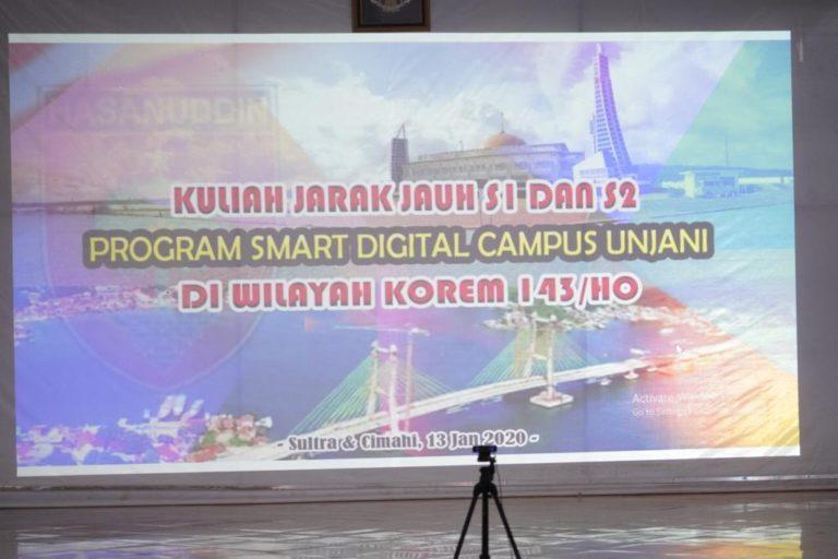 Korem 143/HO Jadi Pilot Project Smart Digital Campus Unjani