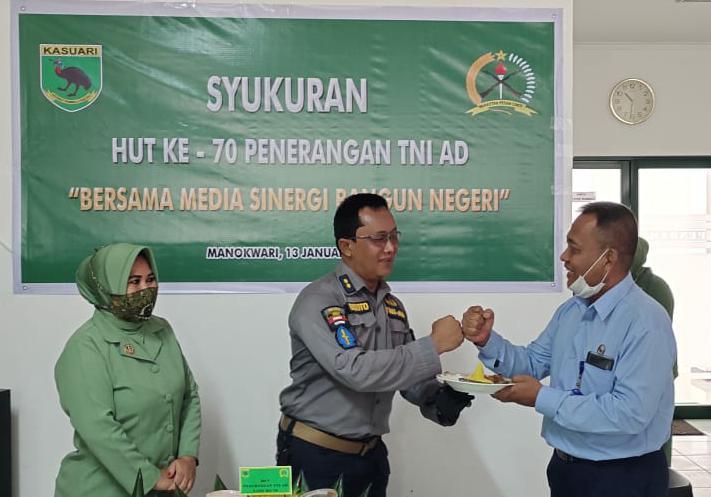 Pendam Kasuari Peringati HUT ke-70 Penerangan TNI AD