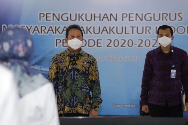 Menteri Trenggono ajak MAI berjuang majukan perikanan budidaya