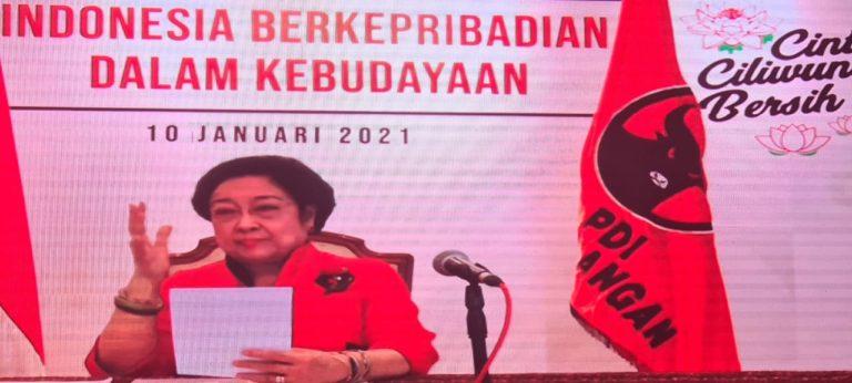 Ini Instruksi Megawati untuk Tiga Pilar PDIP