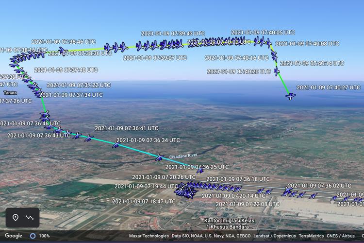 Mesin Pesawat Sriwijaya Air Diduga Masih Hidup Sebelum Membentur Air