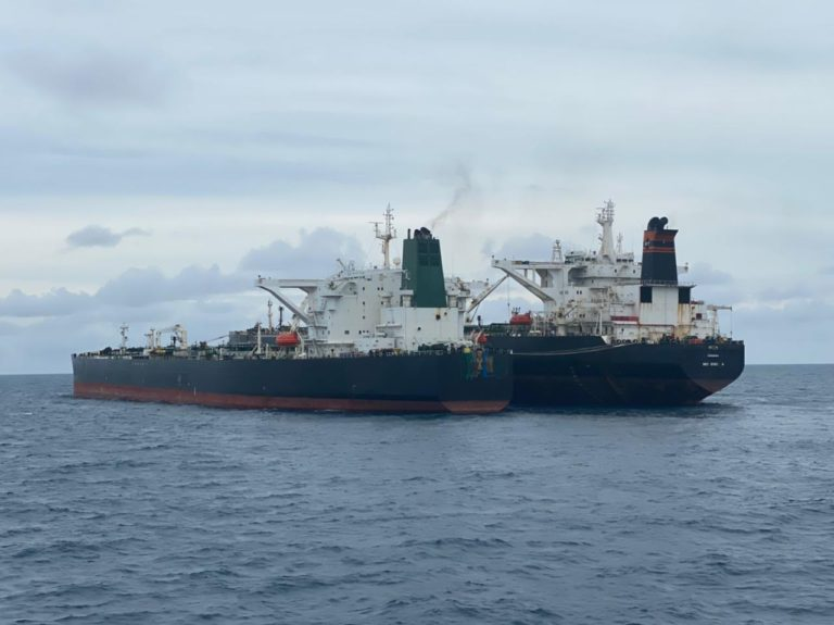 Bakamla RI Amankan Dua Kapal Tanker Asing