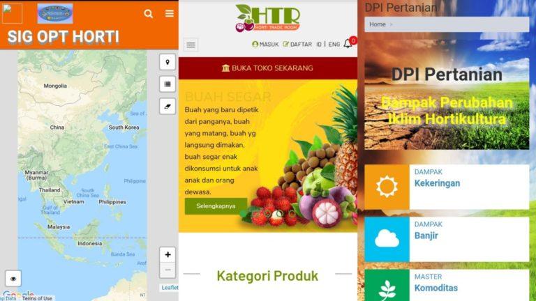 Kementan Miliki Sejumlah Platform Hortikultura Digital