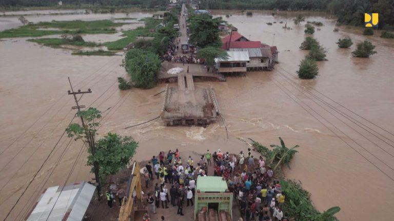 Jalan Lintas Kalsel-Kaltim Lumpuh, Menteri PUPR Minta Pemasangan Jembatan Bailey di Martapura Selesai 3 Hari