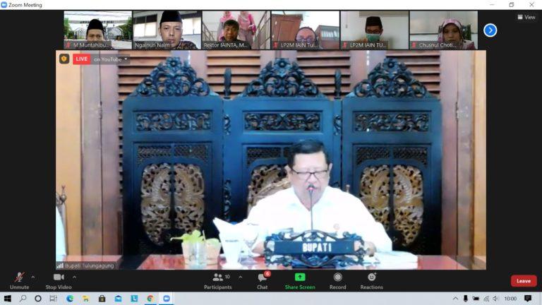 4.053 Mahasiswa IAIN Tulungagung Ikut KKN Virtual dari Rumah