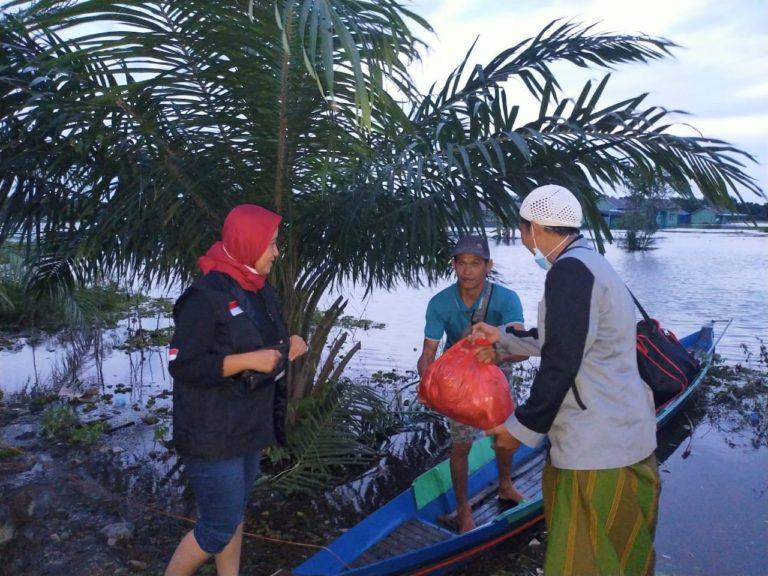 LPBI NU Distribusikan Bantuan di 5 Daerah Terdampak Banjir Kalsel