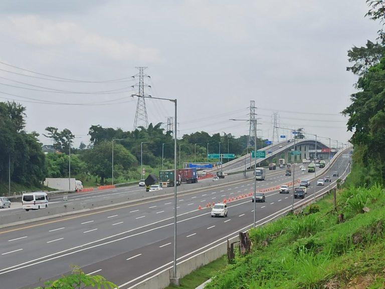Hari Pertama Tahun Baru, 106.058 Ribu Kendaraan Menuju Jakarta