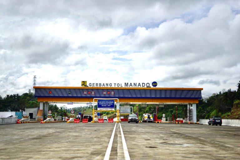 Kejar Target, Jasa Marga Lanjutkan Pembangunan Tol Manado-Bitung