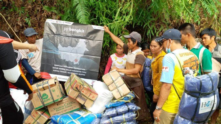 Pertamina Foundation bersama HOPE Worldwide Indonesia lakukan Ekspedisi Meratus untuk Korban Banjir Kalsel