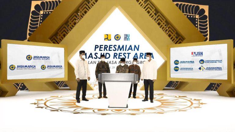 Jasa Marga Group Resmikan 12 Masjid Rest Area di Seluruh Indonesia