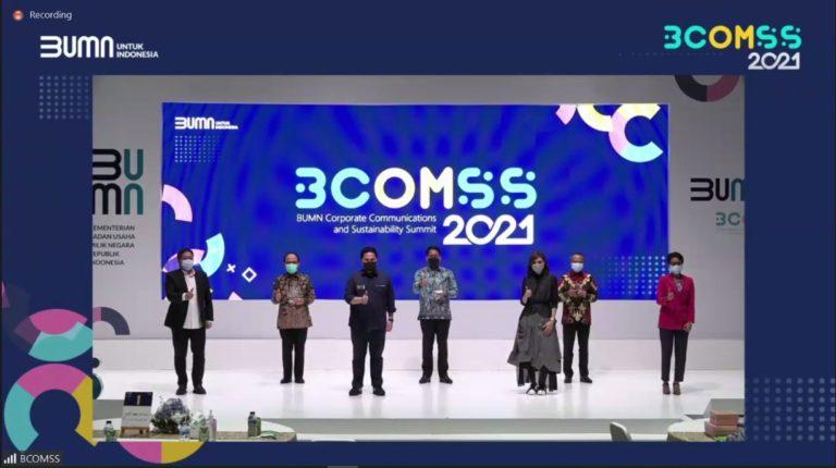 Jasa Marga Raih Penghargaan Silver di Ajang BCOMSS 2021