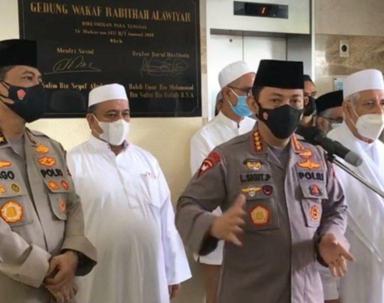 Kapolri Titip Rabithah Alawiyah Bantu Edukasi Masyarakat soal Kamtibmas