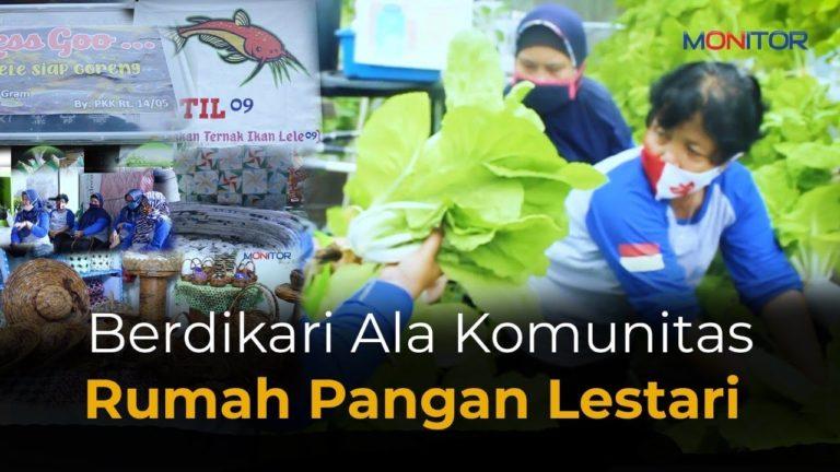 Berdikari Ala Komunitas Rumah Pangan Lestari Komplek Pabuaran Indah Cibinong
