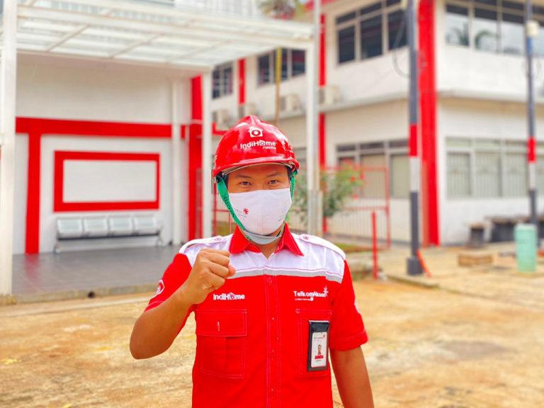 Apresiasi Kiprah Teknisi IndiHome dalam Berikan Layanan Terbaik di Zona Merah Covid-19